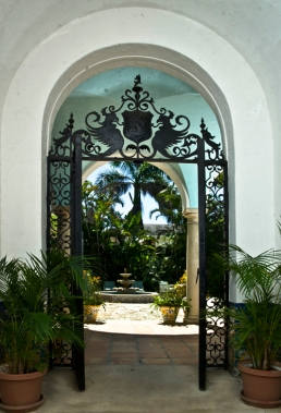 Entry to Casa Juanita