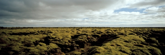 """""""3 october, iceland,"""" a color photograph, by Montana Pritchert is diasec mounted,35 by 96 inches, editions of 5, studio price, $5,295"""
