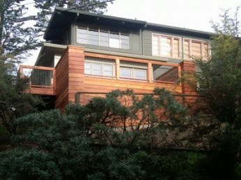 The Bonneau and Roscoe residence in Mill Valley