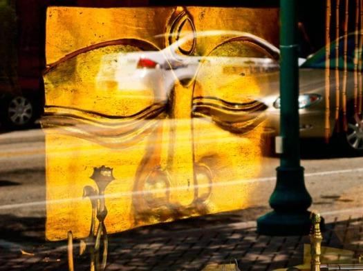 Reflections #1 Sidewalk Series