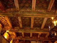 ceiling detail living room