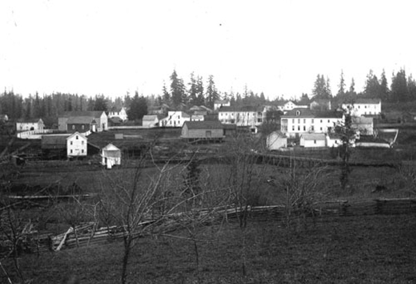 Aurora town view 1875